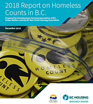 2018 Report on Homeless Counts in B.C