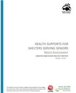 Health Supports for Shelters Serving Seniors